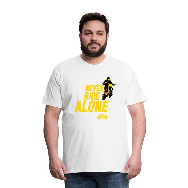 Never Ride Alone Black