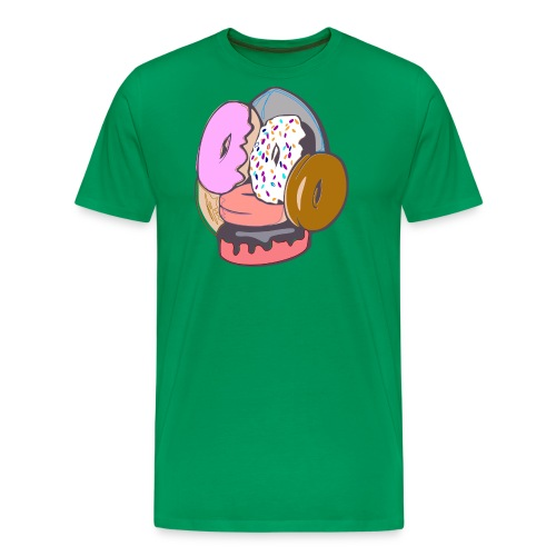 Doughnut Face - Men's Premium T-Shirt