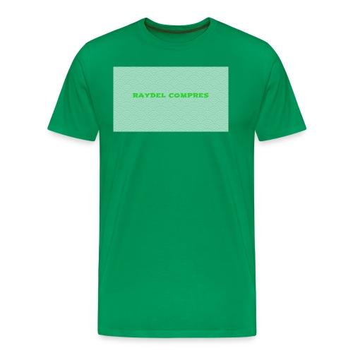 Raydel Compres Green T-Shirt - Men's Premium T-Shirt