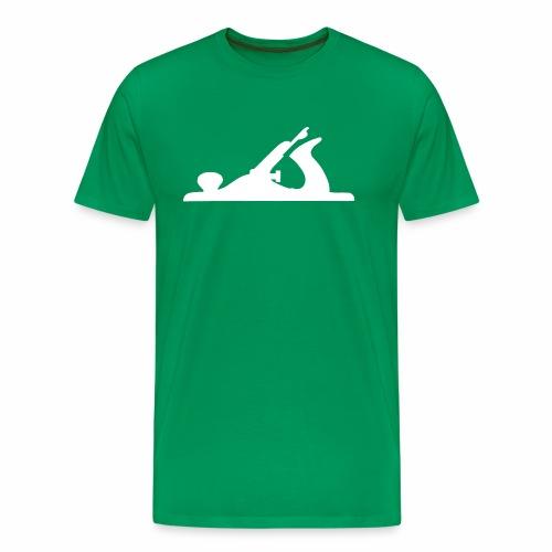 Handplane White - Men's Premium T-Shirt