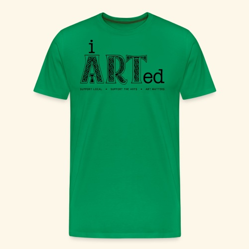 i arted (Irish theme) - Men's Premium T-Shirt