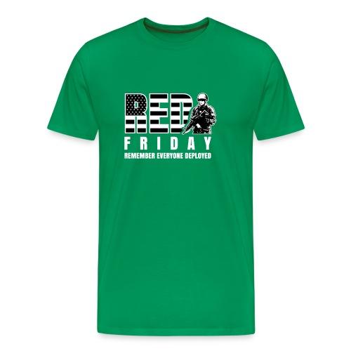 Red Friday Military - Men's Premium T-Shirt