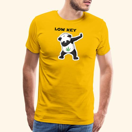 LOW KEY DAB BEAR - Men's Premium T-Shirt