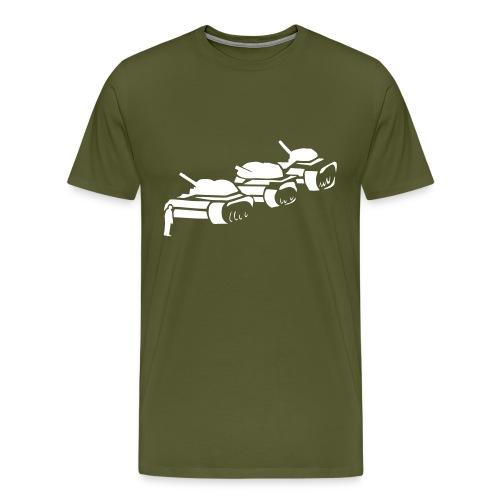 tienanmen square protestor - Men's Premium T-Shirt