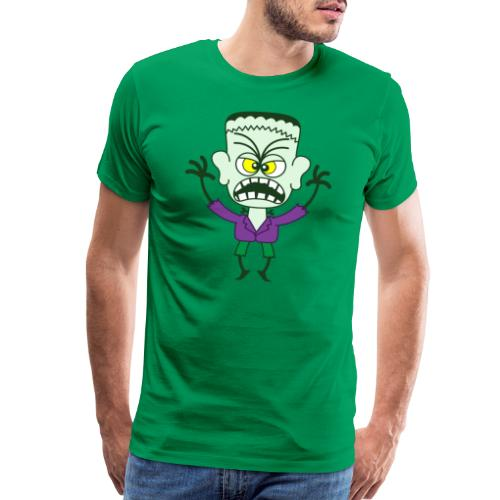 Scary Halloween Frankenstein - Men's Premium T-Shirt