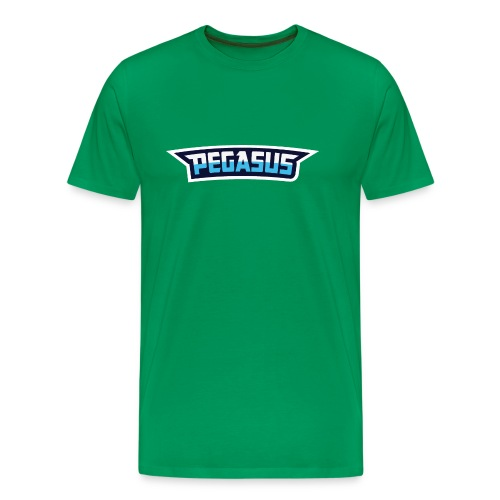 Mr Pegasus Text - Men's Premium T-Shirt