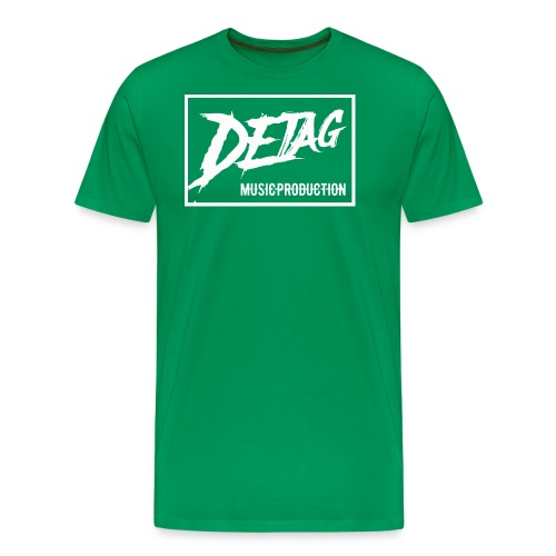 DETAG Logo transparent - Men's Premium T-Shirt
