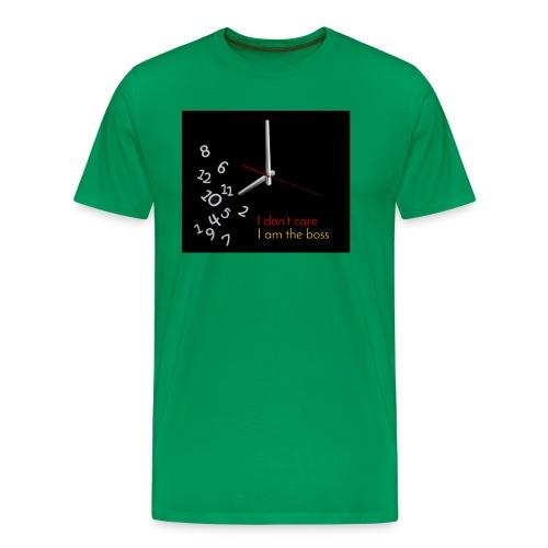 I am the boss - Men's Premium T-Shirt
