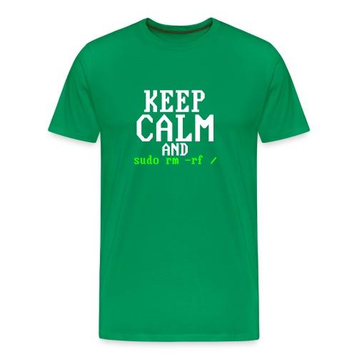 Sudo rm rf - Men's Premium T-Shirt