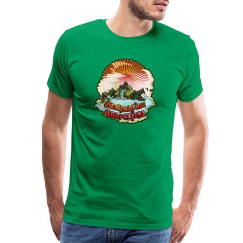 Adrenaline Addiction Tye Dye Shirt - Men's Premium T-Shirt
