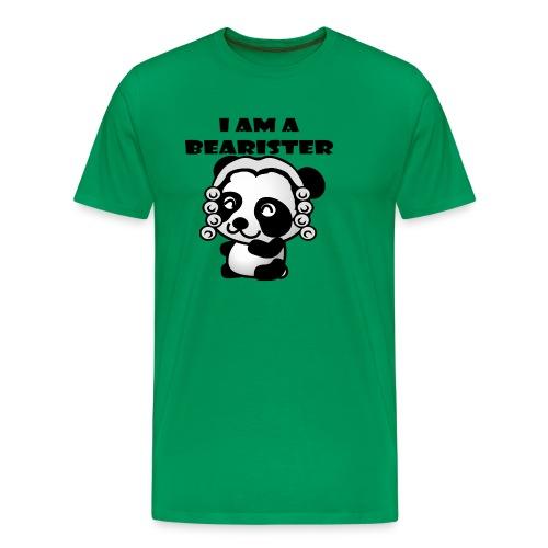 I am a bearister - Men's Premium T-Shirt