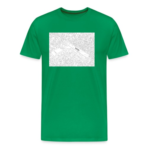 GunLines - Men's Premium T-Shirt