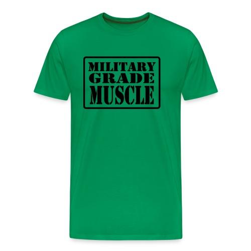 Military Grade Muscle Black - Men's Premium T-Shirt