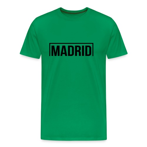 Goal Madrid Black - Men's Premium T-Shirt