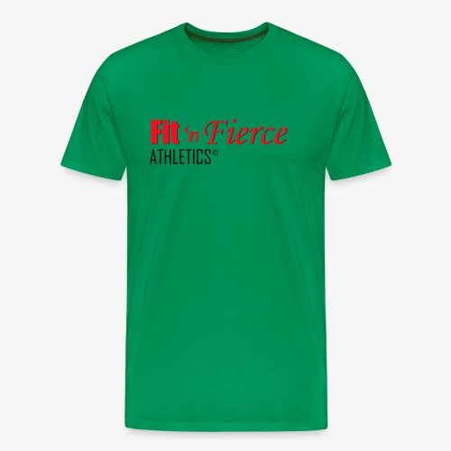 Fit 'n Fierce name only - Men's Premium T-Shirt