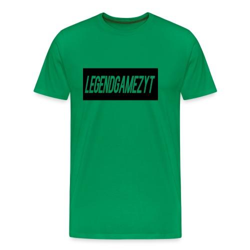 LegendGamezYT Text Logo - Men's Premium T-Shirt