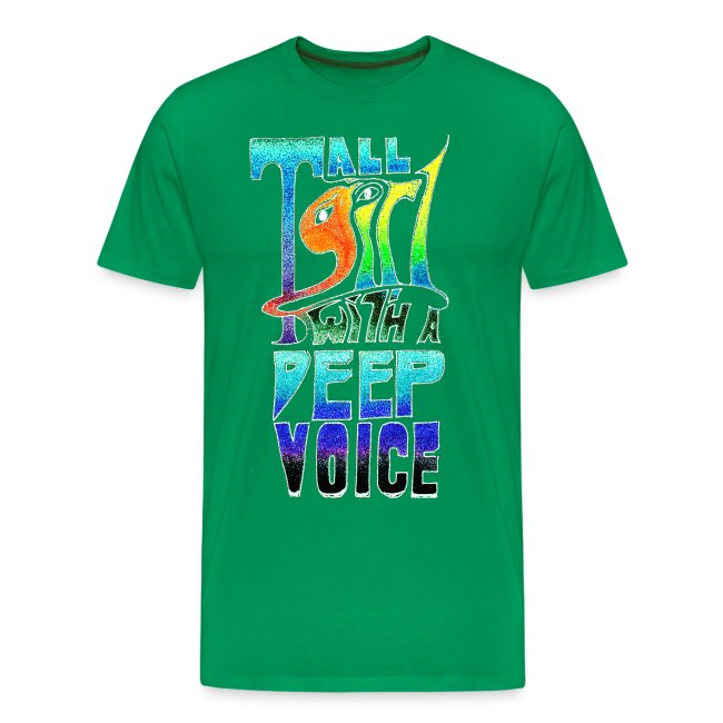 Tall Girl with a Deep Voice (light lines)