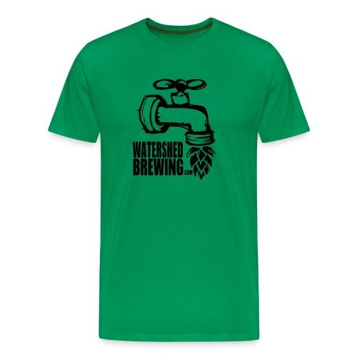 Watershed Brewing Tap Hop - Men's Premium T-Shirt