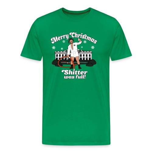 Joe Biden as Cousin Eddie - Merry Christmas 46 - Men's Premium T-Shirt
