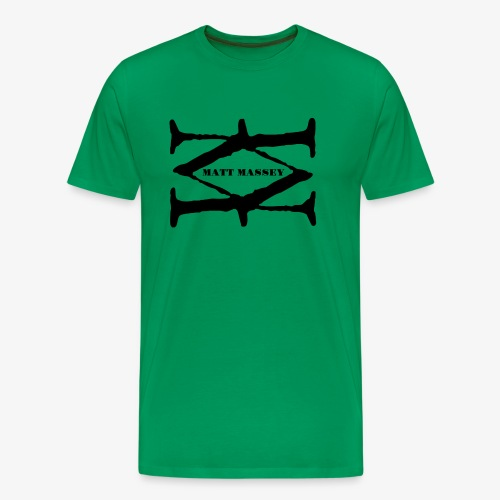Matt Massey Logo Black - Men's Premium T-Shirt