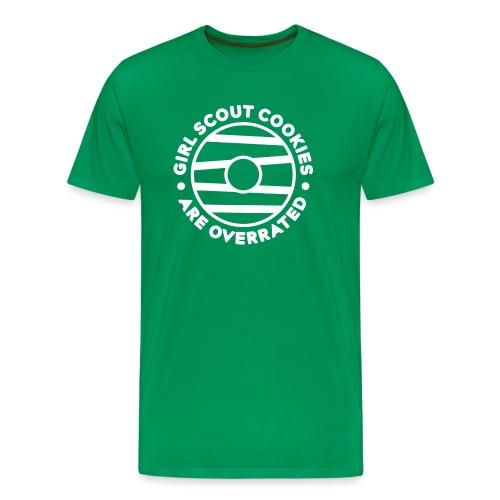 Overrated Cookies - Men's Premium T-Shirt