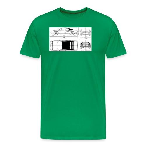 artists rendering - Men's Premium T-Shirt