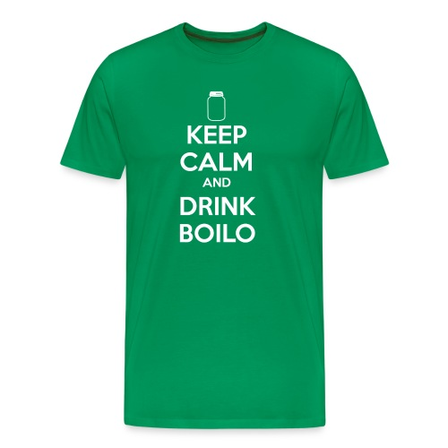 KEEPCALMboilo png - Men's Premium T-Shirt