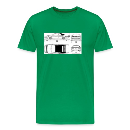 artists rendering - Men's Premium T-Shirt
