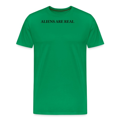 Aliens are Real - Men's Premium T-Shirt