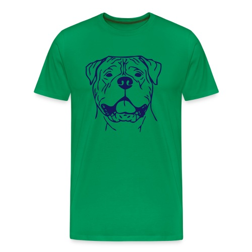 bullmastiff0z01 - Men's Premium T-Shirt