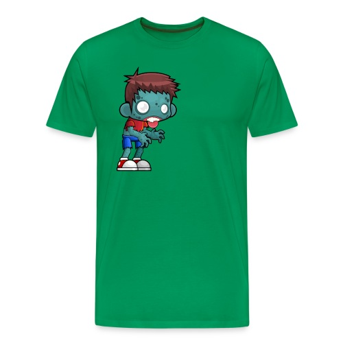 male zombie - Men's Premium T-Shirt