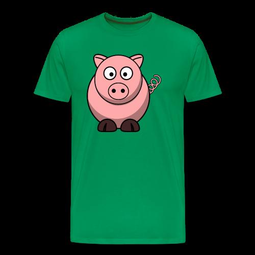 Pink Pig - Men's Premium T-Shirt