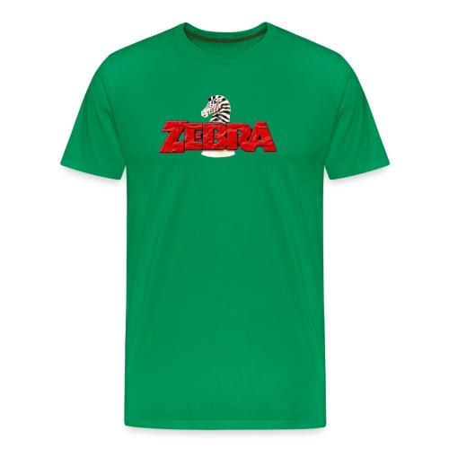 Zebra No Tellin Lies band - Men's Premium T-Shirt
