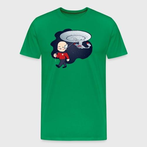 Picard Balloon - Men's Premium T-Shirt