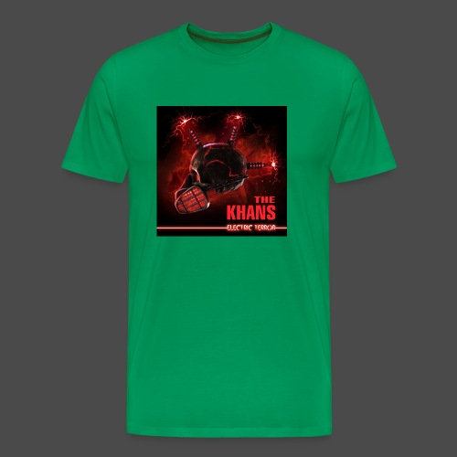 Electric Terror (Red) - Men's Premium T-Shirt