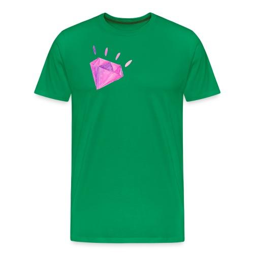 Watercolor Diamond - Men's Premium T-Shirt