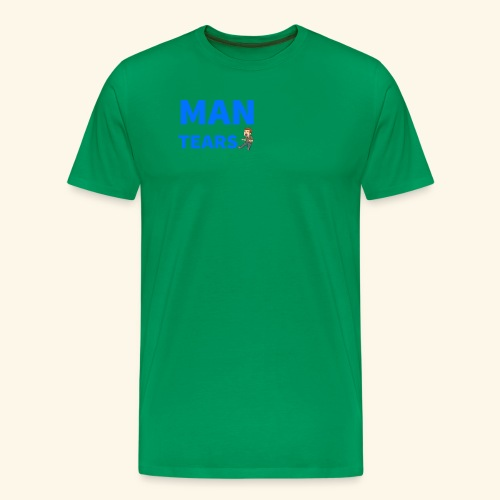 Man Tears Mug - Men's Premium T-Shirt