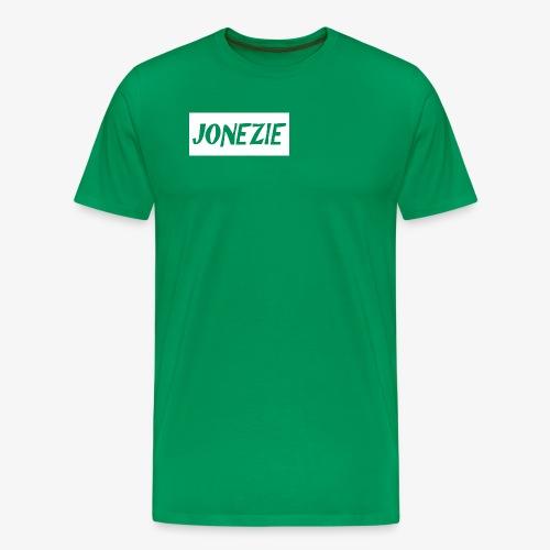 JONEZIE WHITE EDITION - Men's Premium T-Shirt