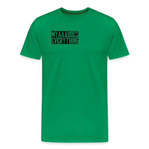 MyaaaDoesEverything (Black) - Men's Premium T-Shirt