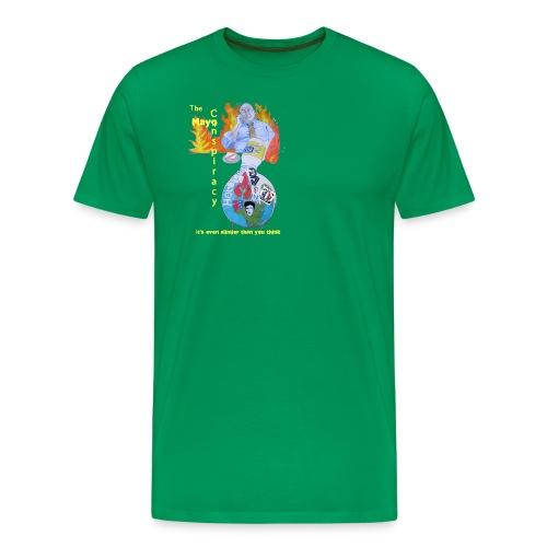Mayo-Conspiracy - Men's Premium T-Shirt