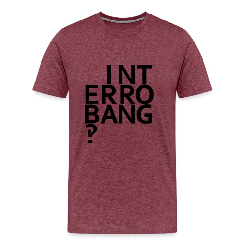 interrobang - Men's Premium T-Shirt
