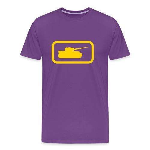 Tank Logo - Multi-Color - Axis & Allies - Men's Premium T-Shirt