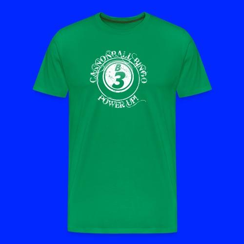 Vintage Cannonball Bingo Ball Tee - Men's Premium T-Shirt