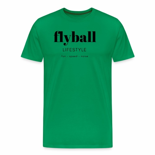 Flyball Lifestyle - Men's Premium T-Shirt