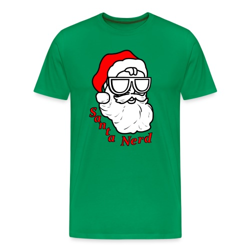 Nerds - Santa Nerd SD - Men's Premium T-Shirt