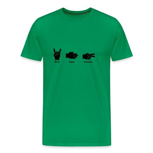 rockpaperscissors - Men's Premium T-Shirt