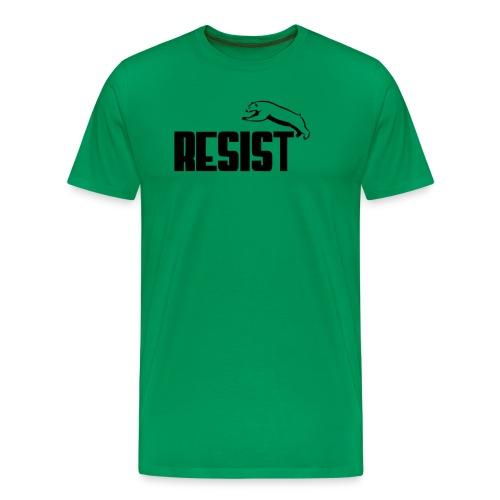 RESIST BEAR - Men's Premium T-Shirt
