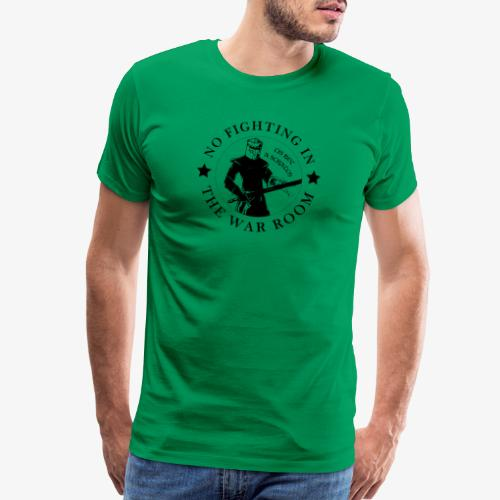 The Black Knight - Motto - Men's Premium T-Shirt