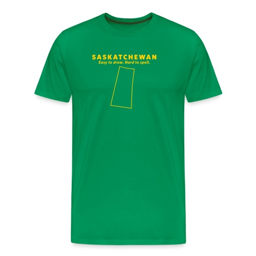 Saskatchewan - Men's Premium T-Shirt