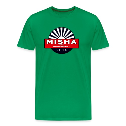 Misha For President - Men's Premium T-Shirt